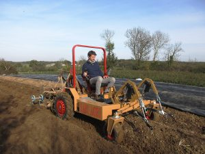 Alpo, le tracteur électrique