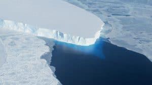 Mur contre la fonte des glaces