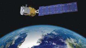 Satellite avec laser ICESat-2
