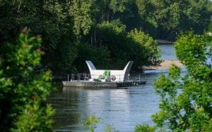 Ferme d'hydroliennes fluviales