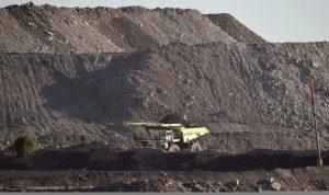 Mine de charbon à ciel ouvert