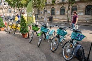 Vélos en free-floating