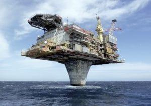 Plateforme pétrolière en Norvège