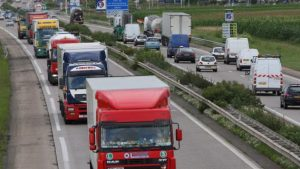 Emissions de CO2 des camions