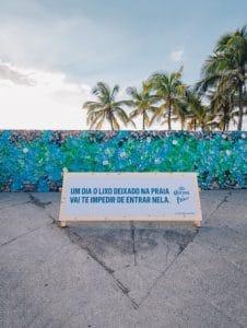 Mur de plastique au Bréqil