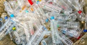 Consigne des bouteilles en plastique