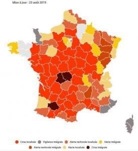 La sécheresse en France métropolitaine
