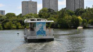 Jules Verne, la première navette à hydrogène