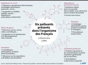 Polluants du quotidien : contamination