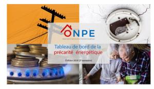 Tableau de bord de la précarité énergétique en 2019