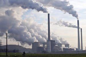 Production d'électricité au charbon