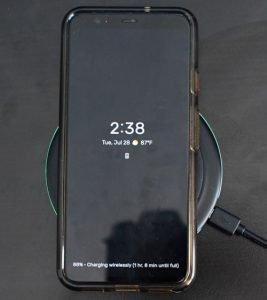 chargeurs sans fil pour smartphone