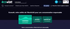Le dispositif Ecowatt partout en France métropolitaine