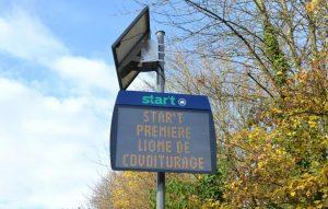 Ligne de covoiturage à Rennes