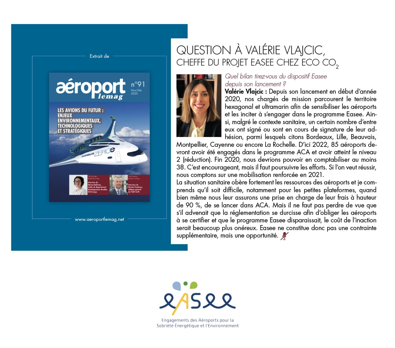 aéroport réduction CO2