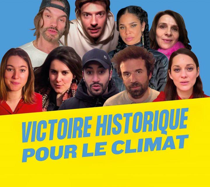 l'Affaire du siècle: victoire pour le climat