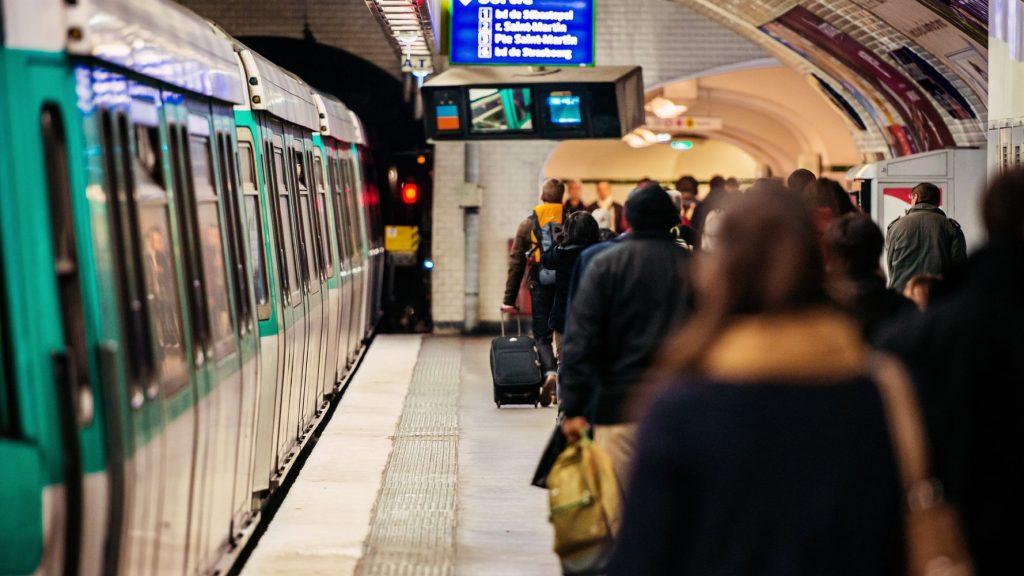 Pollution de l'air dans le métro parisien